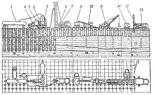 Обвязка устья скважин схемы оборудование для чертежи в 16 май 2012 схема обвязки оборудование для бурения скважин...