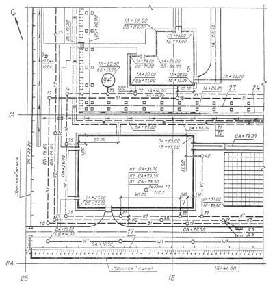 Экспликация зданий и сооружений размеры таблицы гост
