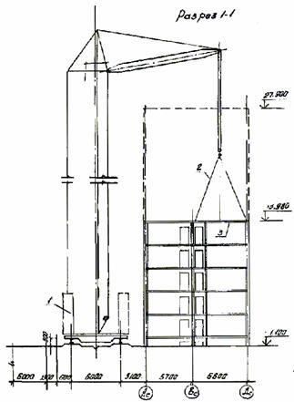 Схема строповки панелей перекрытия. а)на панелевозе.  Рис.2.