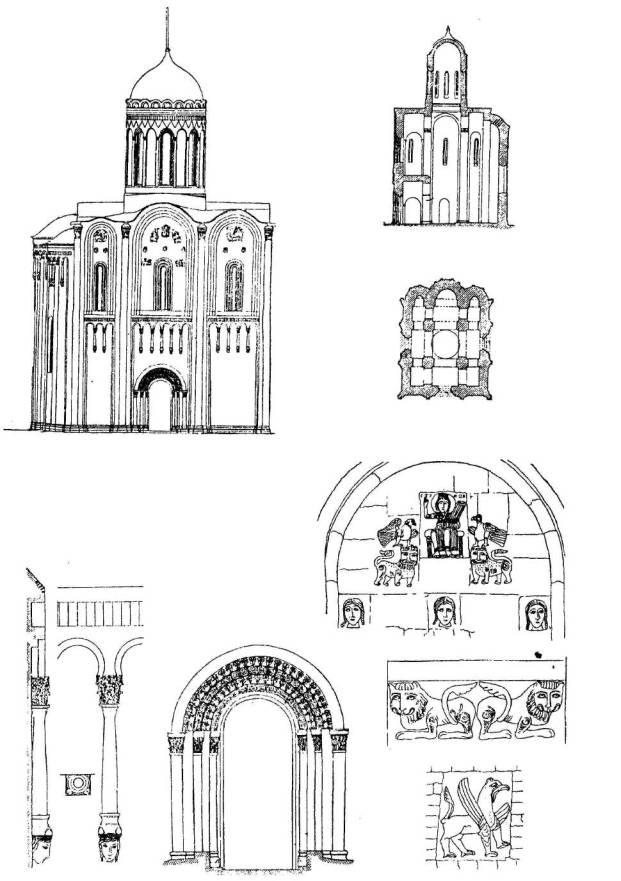 Владимиро-Суздальское княжество Церковь Покрова на Нерли близ Боголюбова (1165) .