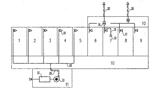 VI Принципиальные схемы систем механической вентиляции ( приточной и вытяжной ) жилой квартиры.