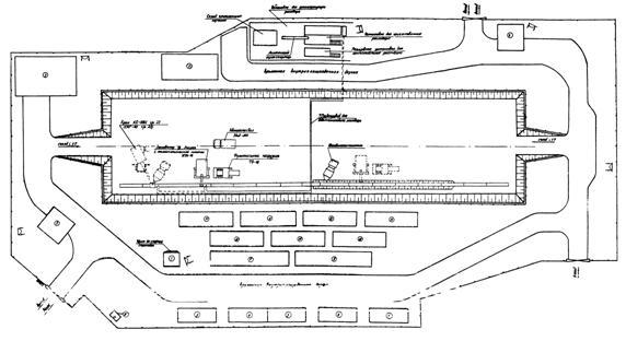 Технологическая карта.  Сооружение несущих конструкций станций метрополитена методом стена в грунте.