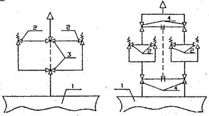 Сбросные трубопроводы предохранительных клапанов