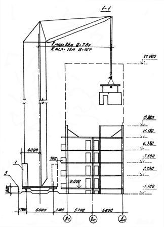 Схемы строповки внутренних стеновых панелей.  Рис. 2.